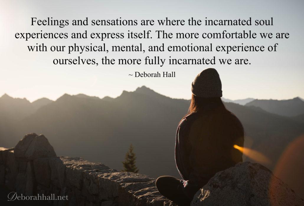 feelings and sensations