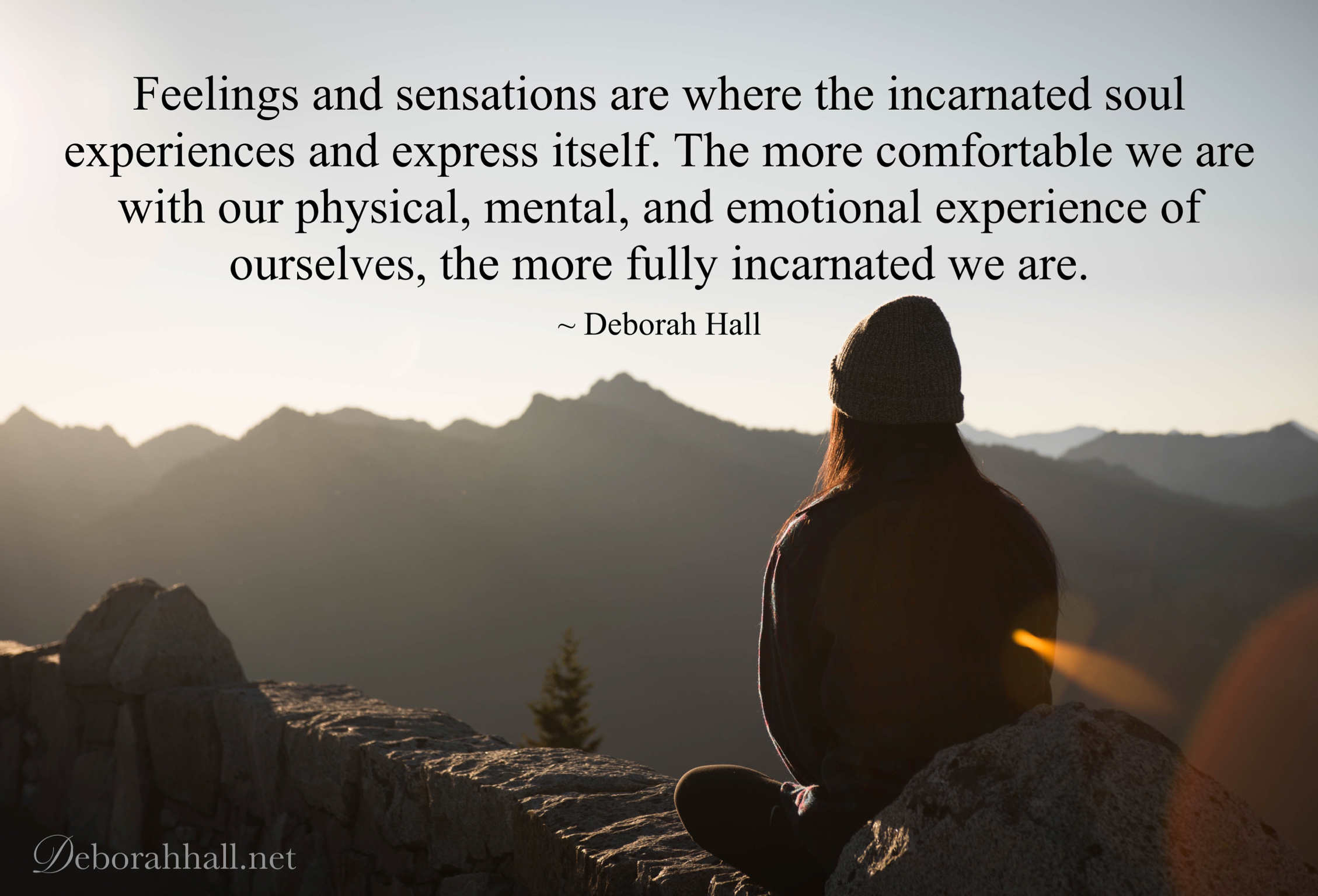 feelings and sensations